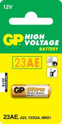 Speciální baterie Alkalická speciální baterie GP 23AF, 1 ks v blistru