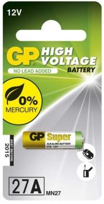 Speciální baterie Alkalická speciální baterie GP 27AF, 5 ks v blistru