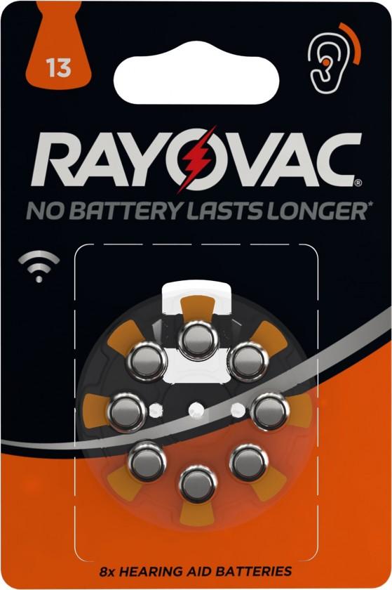 Speciální baterie Bat. do naslouch. 8xHAB13