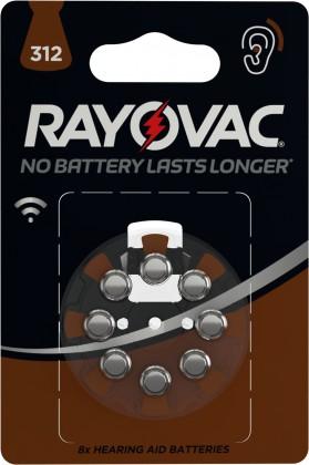 Speciální baterie Baterie do naslouchadel Varta 4607745418, HAB312, 8ks