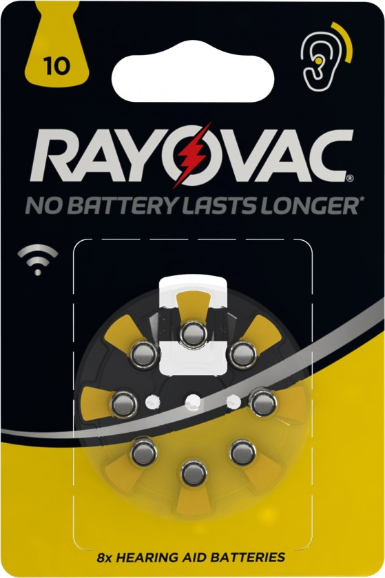 Speciální baterie Baterie do naslouchadel Varta 4610745418, HAB10, 8ks