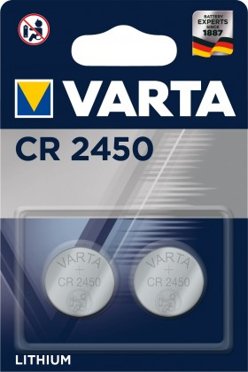 Speciální baterie Baterie Varta CR 2450 2ks