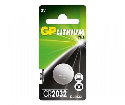 Speciální baterie Knoflíková baterie GP CR2032