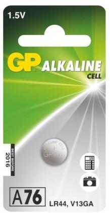 Speciální baterie Knoflíková baterie GP LR44 A76F V13GA/LR44