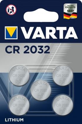 Speciální baterie Speciální baterie Varta CR-2032, 5ks