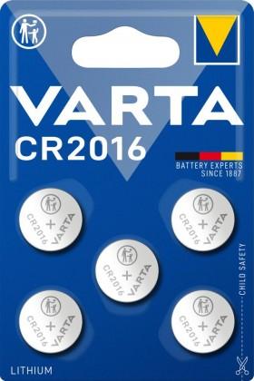 Speciální baterie Varta CR 2016, 5ks