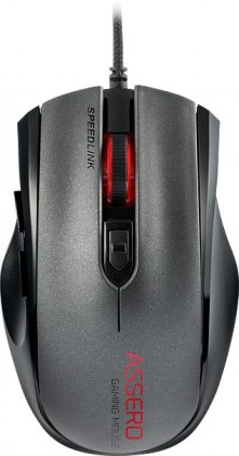 SPEED LINK myš SL-680007-BK ASSERO Gaming Mouse, black