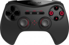 Speed Link STRIKE NX Gamepad - Wireless - for PC, black