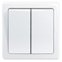Spínač Emos 3557G-05340 B1W, sériový, bílý