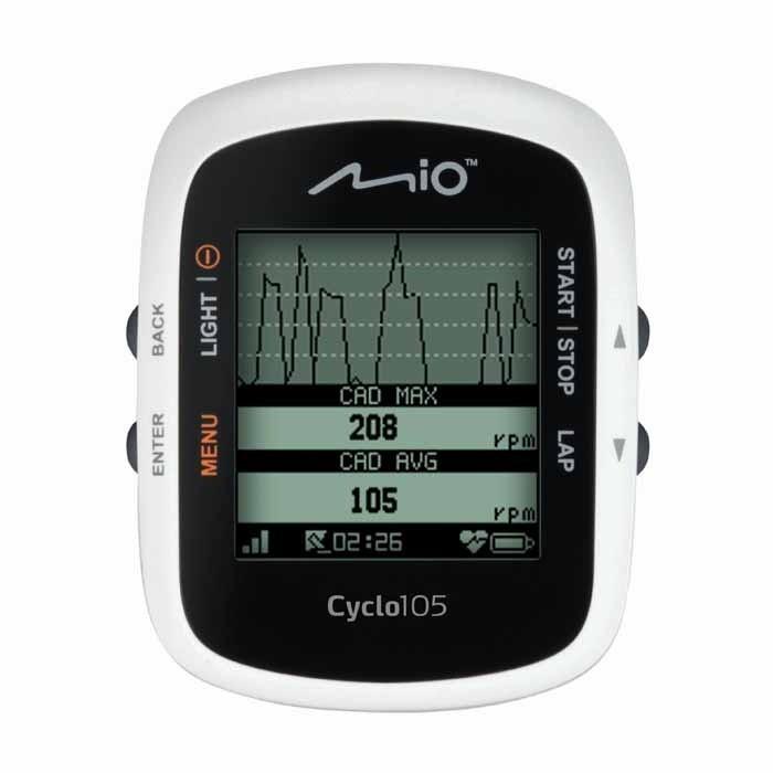 Sportovní navigace MIO Cyclo 105 HC ROZBALENO