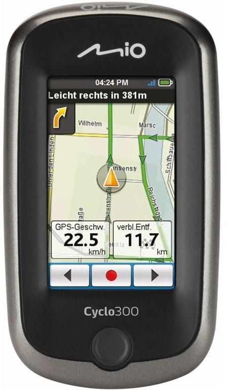 Sportovní navigace MIO Cyclo 300 Central Europe ROZBALENO