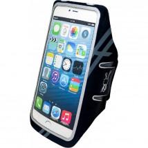 """Sportovní pouzdro na ruku WG pro telefony do 6,8"""",neopren, černá"""
