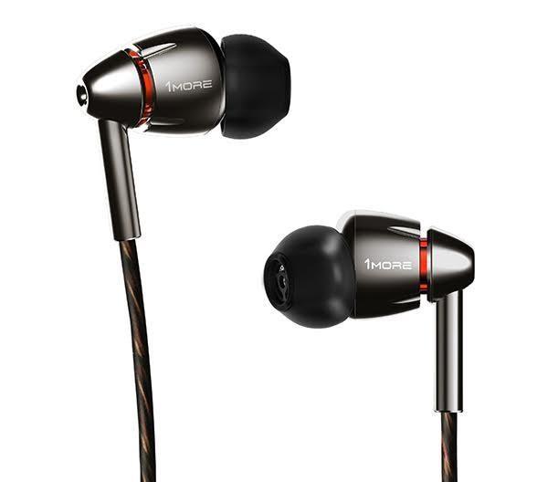 Špuntová sluchátka 1MORE Quad Driver, černá E1010