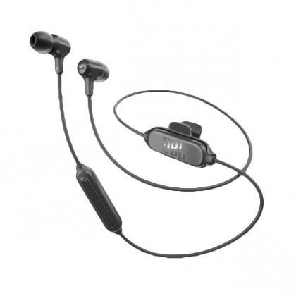 Špuntová sluchátka Bezdrátová sluchátka JBL E25BT černá