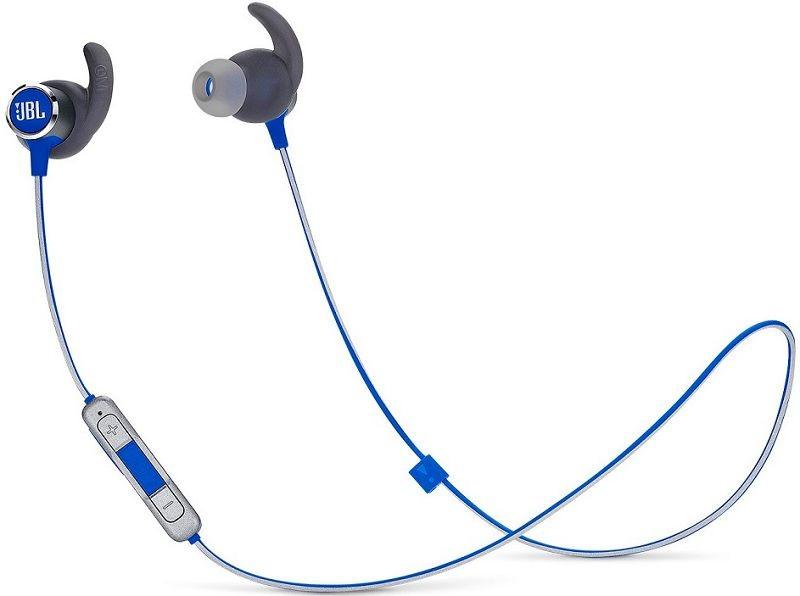Špuntová sluchátka Bezdrátová sluchátka JBL Reflect Mini2 BT, modrá