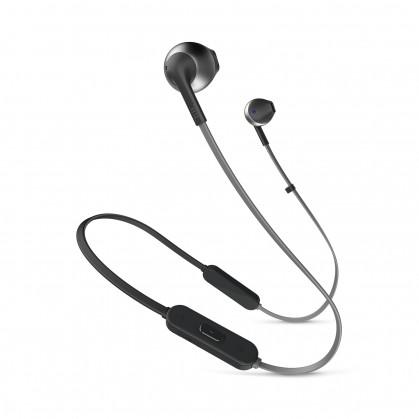 Špuntová sluchátka Bezdrátová sluchátka JBL T205BT černá