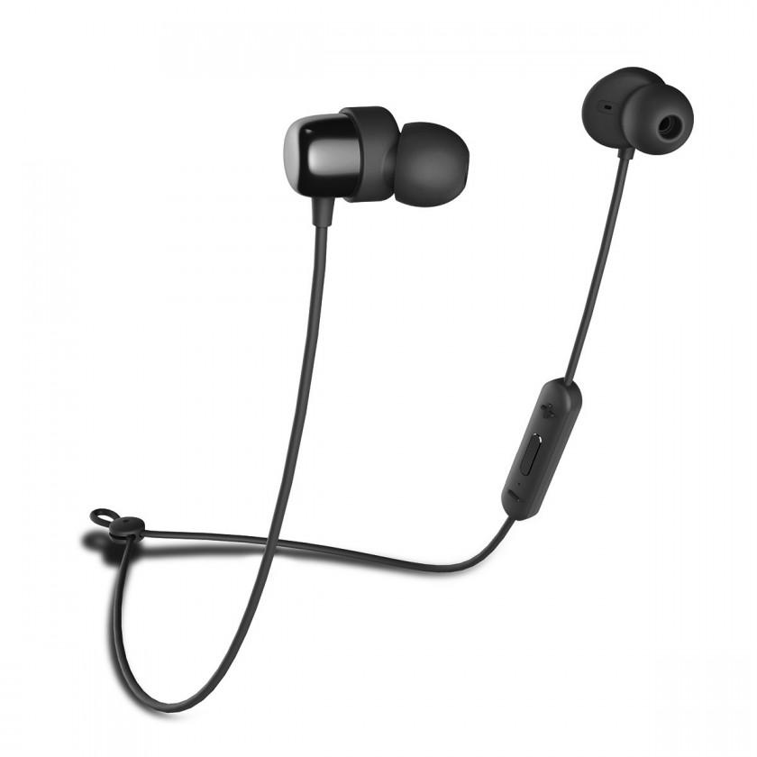 Špuntová sluchátka Bezdrátová sluchátka Niceboy HIVE E2, černá