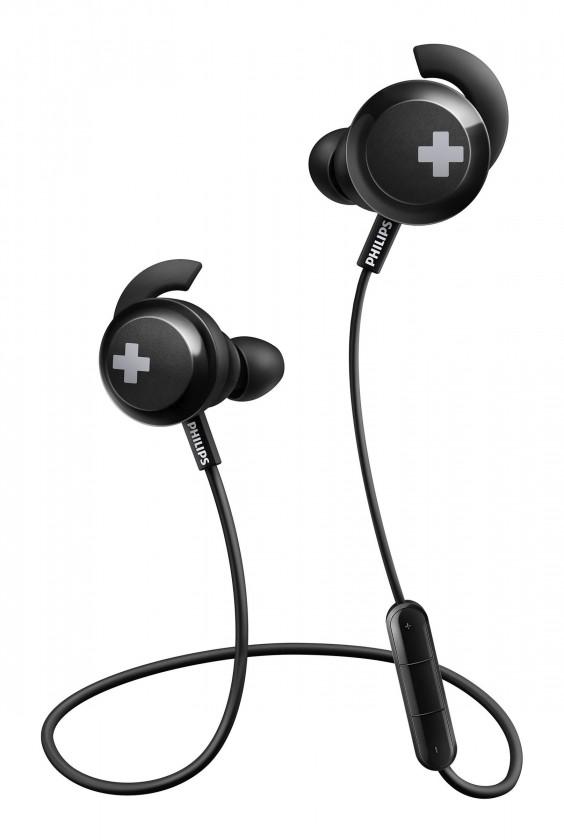 Špuntová sluchátka Bezdrátová sluchátka Philips SHB4305BK, černá