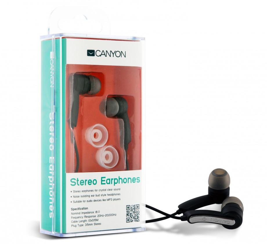 Špuntová sluchátka Canyon CNR-EP01N