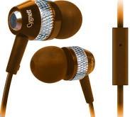 Špuntová sluchátka Cygnett Atomic II, Sluchátka - Orange