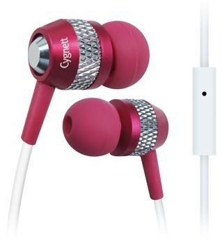 Špuntová sluchátka Cygnett Atomic II, Sluchátka - Pink