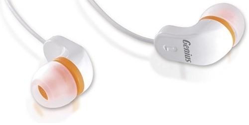 Špuntová sluchátka Genius GHP-200 Orange