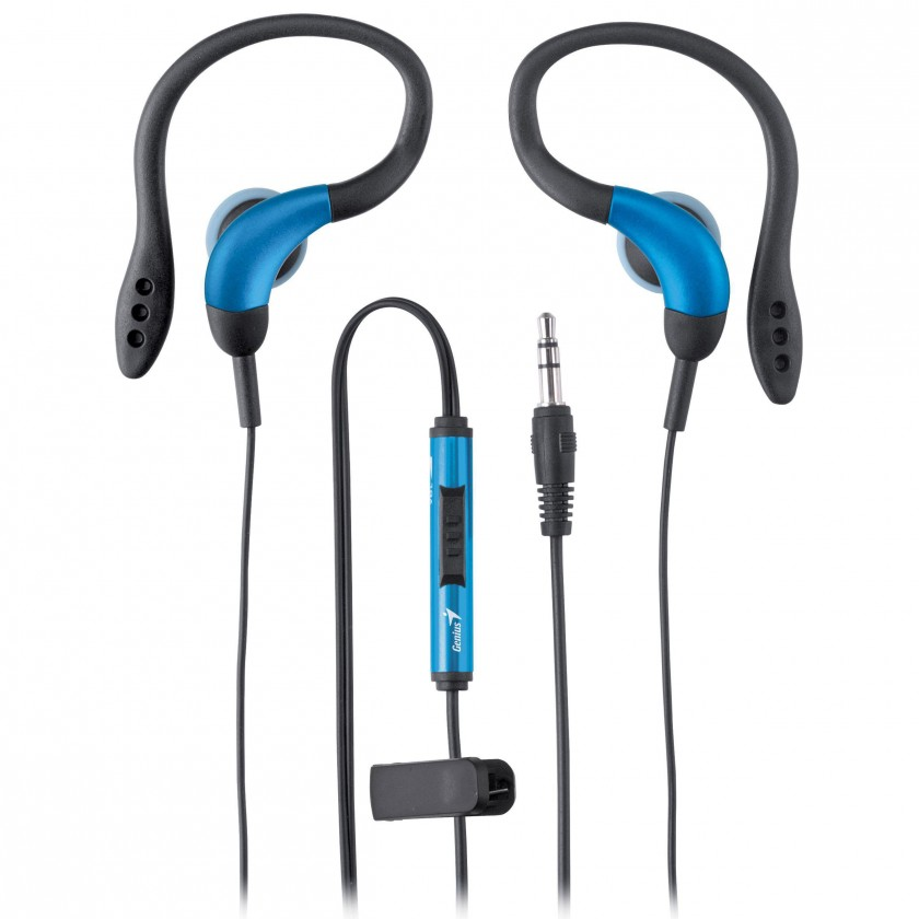 Špuntová sluchátka Genius GHP-205 Blue