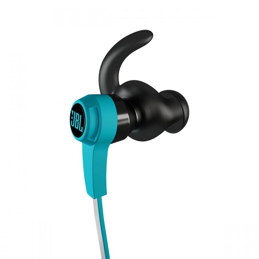 Špuntová sluchátka JBL Reflect iOS Blue POUŽITÉ, NEOPOTŘEBENÉ ZBOŽÍ