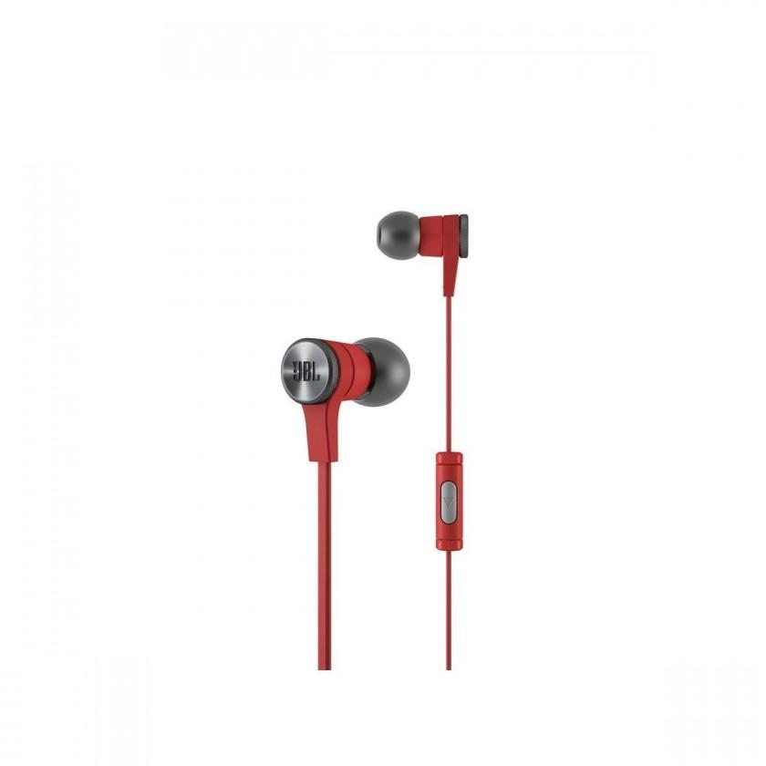 Špuntová sluchátka JBL Synchros E10 Červené