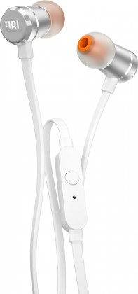 Špuntová sluchátka JBL T290 stŕíbrná