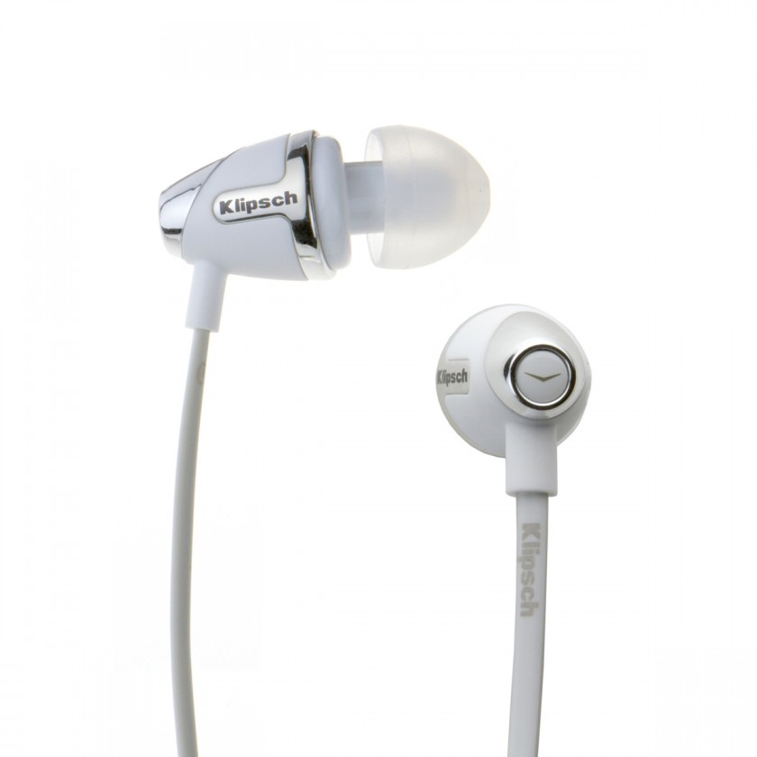Špuntová sluchátka Klipsch Image S4 II - bílá