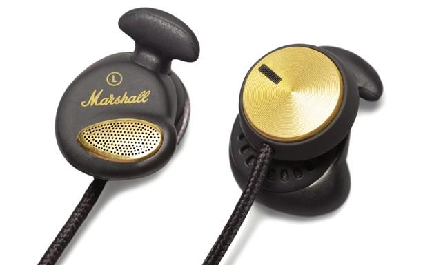 Špuntová sluchátka Marshall Minor FX Black