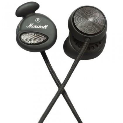 Špuntová sluchátka Marshall Minor Pitch Black