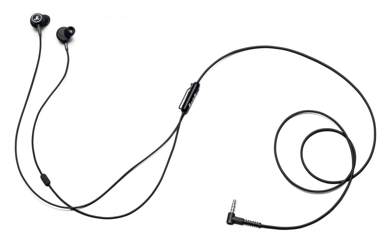 Špuntová sluchátka Marshall Mode Black