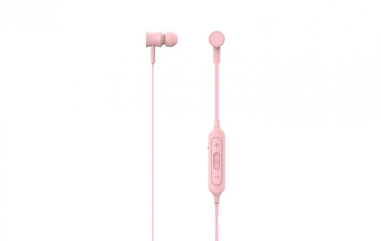 Špuntová sluchátka MySound Speak COLOR růžová