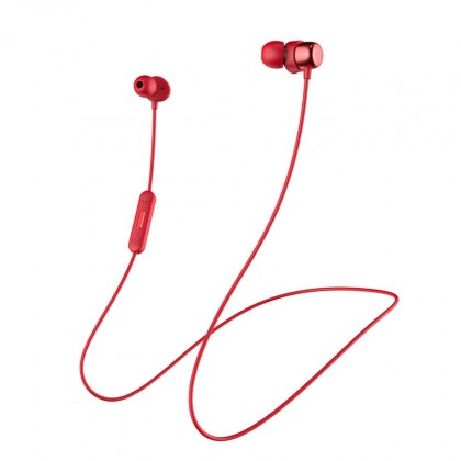 Špuntová sluchátka Niceboy HIVE E2 červená hive-e2-red