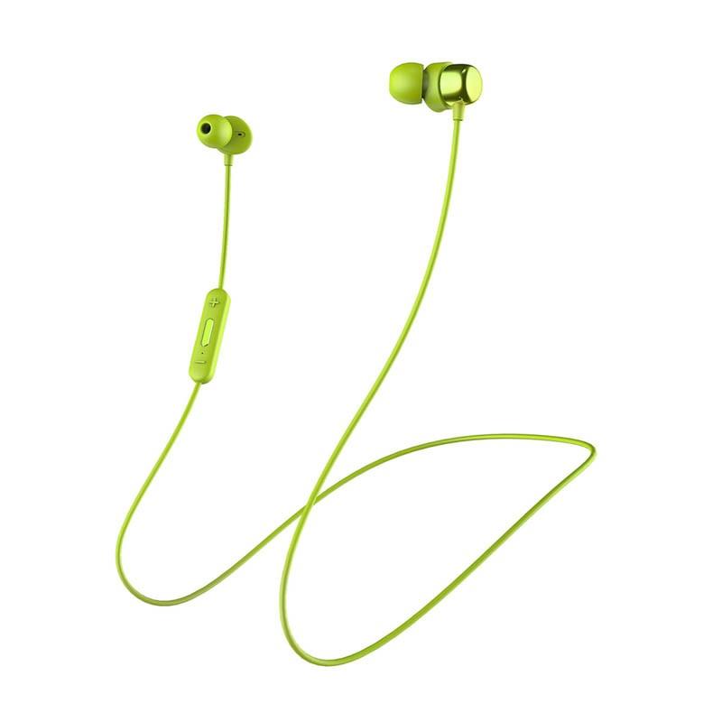 Špuntová sluchátka Niceboy HIVE E2 zelená hive-e2-green