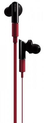 Špuntová sluchátka Onkyo IE-FC300 červená