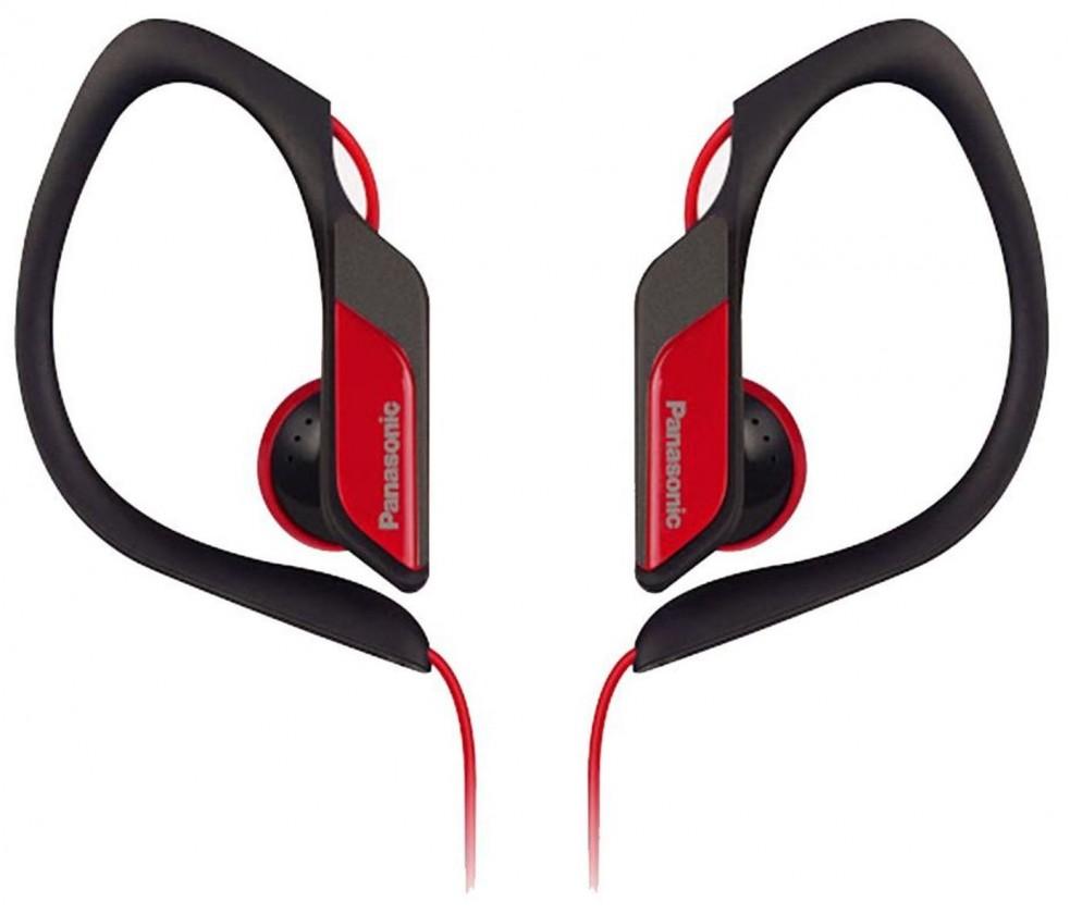 Špuntová sluchátka Panasonic RP-HS34E-R, červená