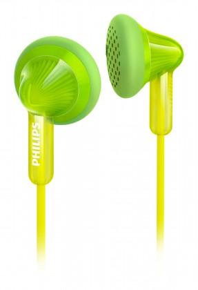 Špuntová sluchátka Philips SHE3010GN zelená