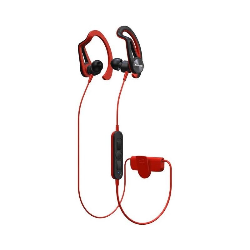 Špuntová sluchátka PIONEER SE-E7BT-R sluchátka / BT/ červená
