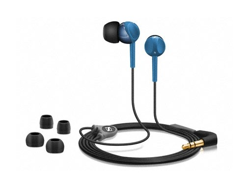 Špuntová sluchátka Sennheiser CX 215 blue