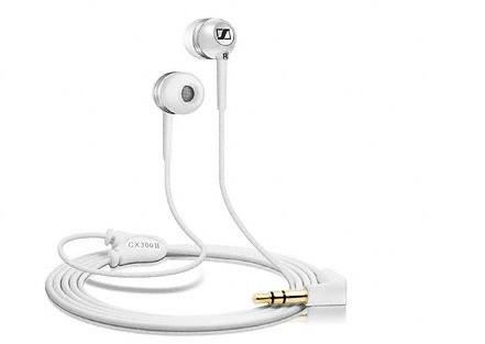 Špuntová sluchátka Sennheiser CX 300 precision bílá
