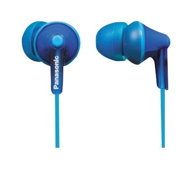 Špuntová sluchátka Sluchátka do uší Panasonic RP-HJE125E-A, modrá