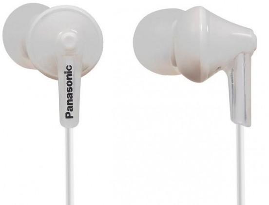 Špuntová sluchátka Sluchátka do uší Panasonic RP-HJE125E-W, bílá