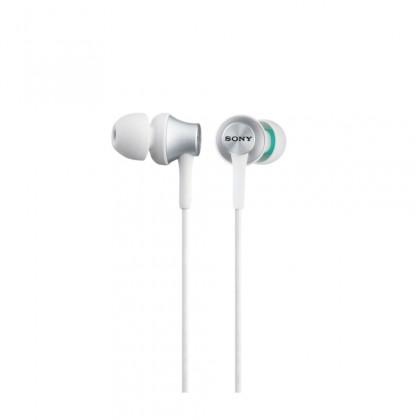 Špuntová sluchátka Sluchátka do uší Sony MDR-EX450AP, bílá