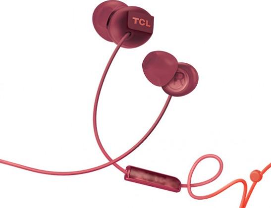 Špuntová sluchátka Sluchátka do uší TCL SOCL300OR, oranžová