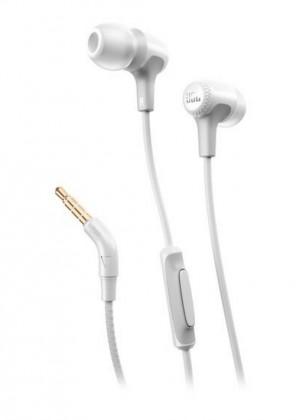 Špuntová sluchátka Sluchátka JBL Synchros E15 bílá