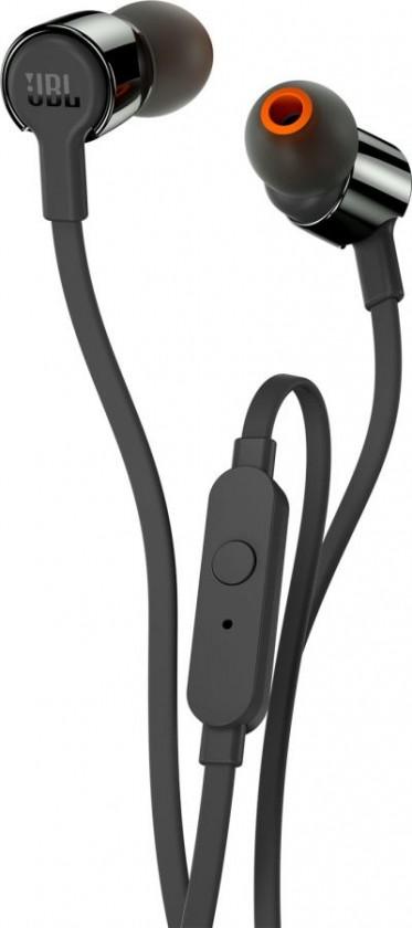 Špuntová sluchátka Sluchátka JBL T210 černá