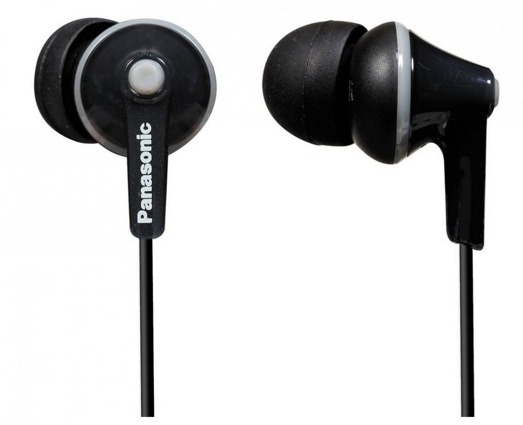 Špuntová sluchátka Sluchátka Panasonic RP-HJE125E-K